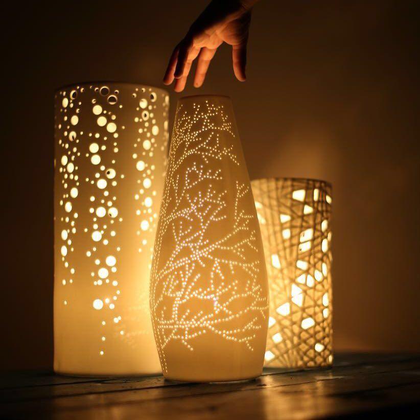 اباجورات عصرية مصنوعة من البورسلان بجودة عالية مجموعه الاباجورات في الصورة 220 ريال ديكور تصميم اناره ابجوره ابجورات اكسسوار Novelty Lamp Lamp Lamp Light