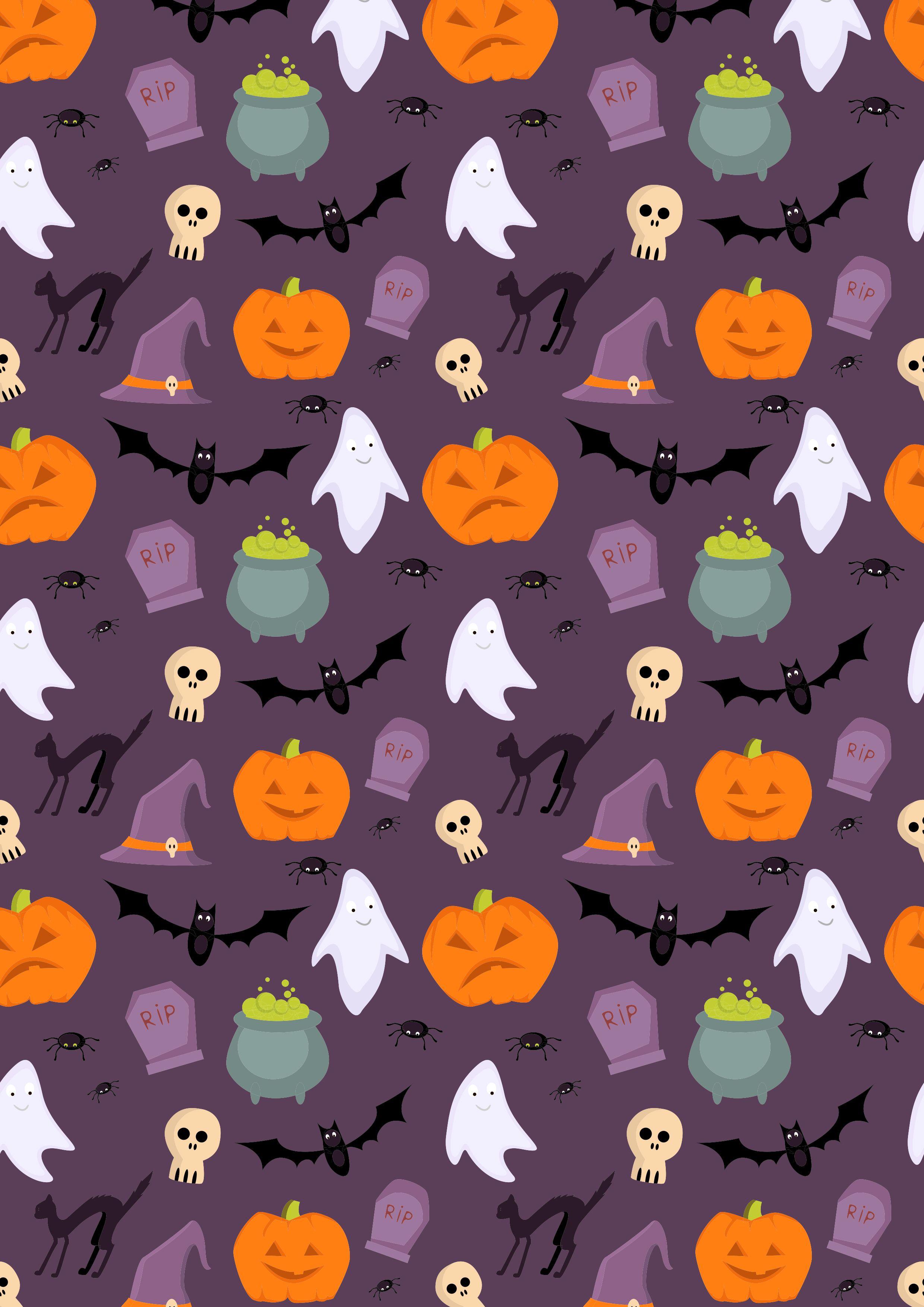 Halloween Halloween Backgrounds Halloween Patterns Halloween Illustration