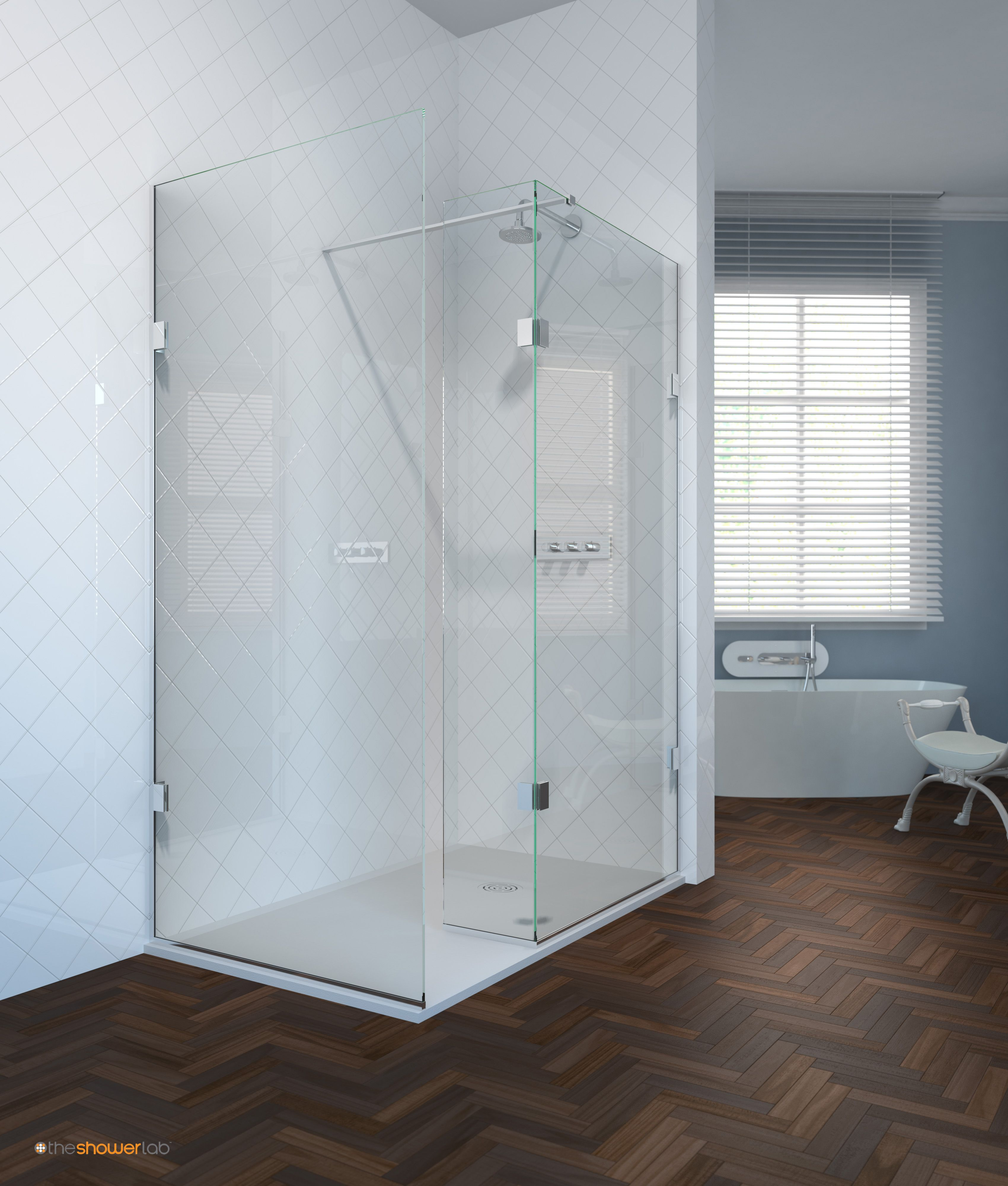 Made By The Shower Lab The Curium Is A Freestanding Frameless