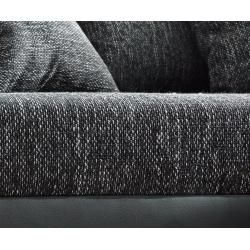 Photo of Delife corner sofa Clovis anthracite antique optics ottoman left modular sofa, design corner sofas, couch loft, M – io.net/dekor