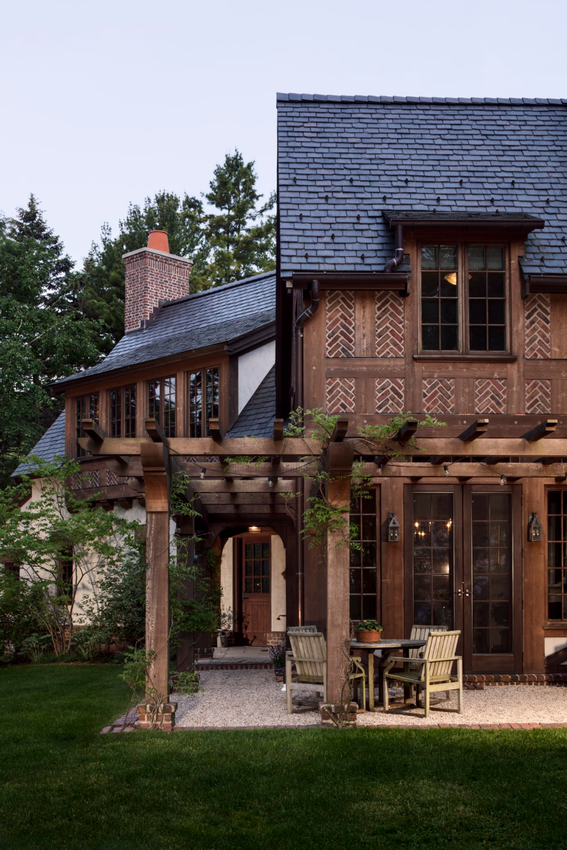 Beautiful Tudor Interiors Exteriors Chairish Blog Tudor House Exterior Country Home Exteriors House Exterior