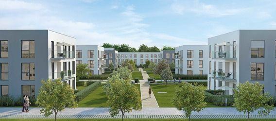 Neubau München: Baustart von 133 Eigentumswohnungen im Münchner Stadtteil Alt-Perlach erfolgt. Bild: Creareal https://www.immobilien-zeitung.de/1000038532/creareal-realisiert-133-wohnungen-in-perlach
