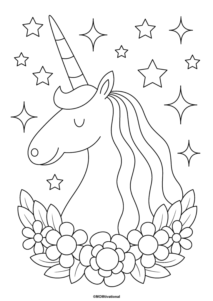 Fun And Free Unicorn Coloring Pages For Kids Momtivational Unicorn Coloring Pages Free Kids Coloring Pages Kids Printable Coloring Pages