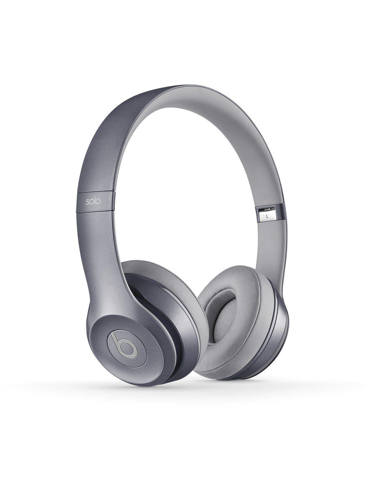 Amazon.com: Beats Solo 2 Wired On-Ear Headphone - Grey: Electronics