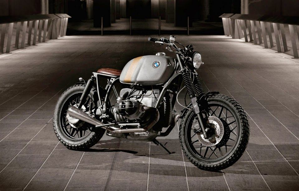"BMW R100 RT Custom | Custom bike Custom BMW R100 RT by ER Motorcycles. This custom bike is based on 1981 BMW R100 RT Boxer motorcycle. Custom BMW R100 RT conversion includes ER custom seat, ER Custom fenders, Exhaust pipes, Brembo front and rear brakes, Custom Renthal ultra-low handlebars, Motogadget speedo, Tarozzi footpegs, Hattech Custom mufflers, etc. Custom BMW R100 RT is named ""Stannum"" by the builders."