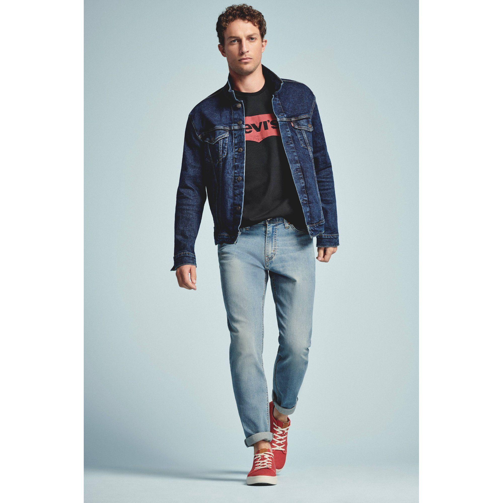Levi S Levi S Men S Denim Trucker Jacket Walmart Com Walmart Com Denim Jacket Fashion Trucker Jacket Jackets [ 2000 x 2000 Pixel ]