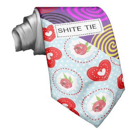 b00ef60e1c8b Funny Outrageous Novelty Shite Shirt Tie | Zazzle.com | Stuff SOLD ...