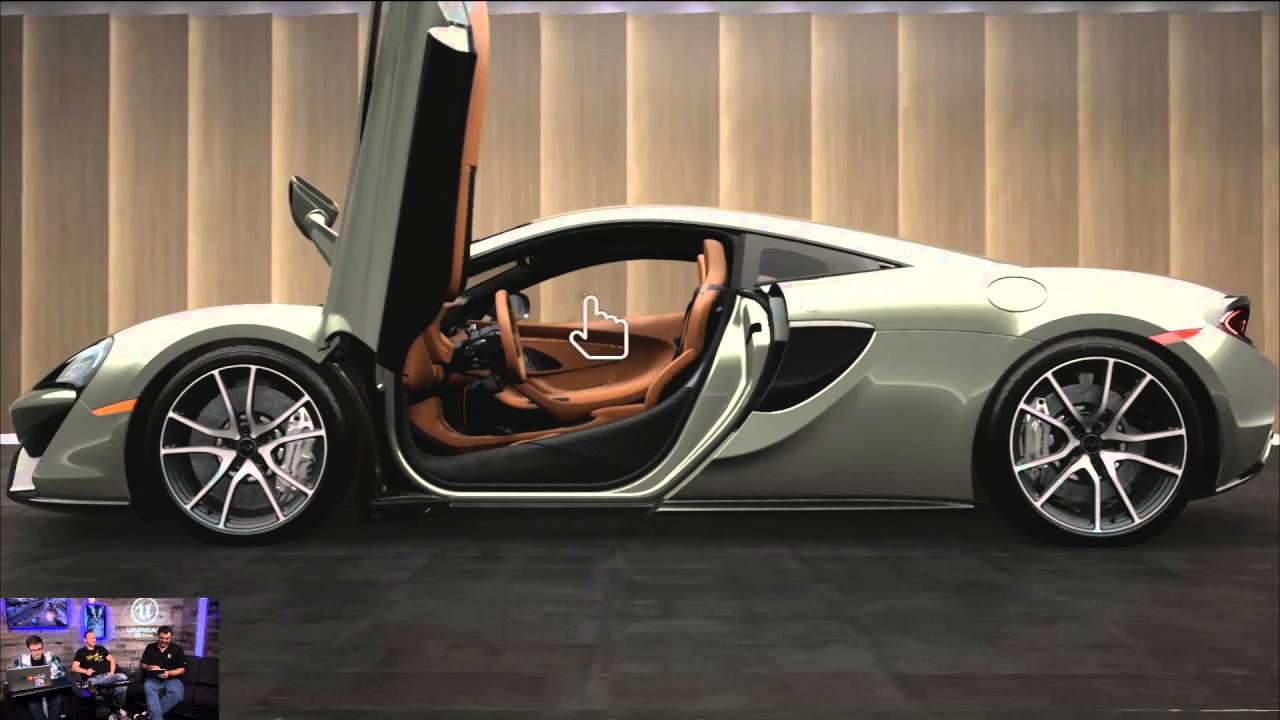 The Making of the McLaren Car Configurator | CARS as ART!!! MCLAREN