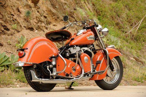 1953 Indian Chief Roadmaster Indian Motorcycle Indian Motorbike Motorcycle Harley