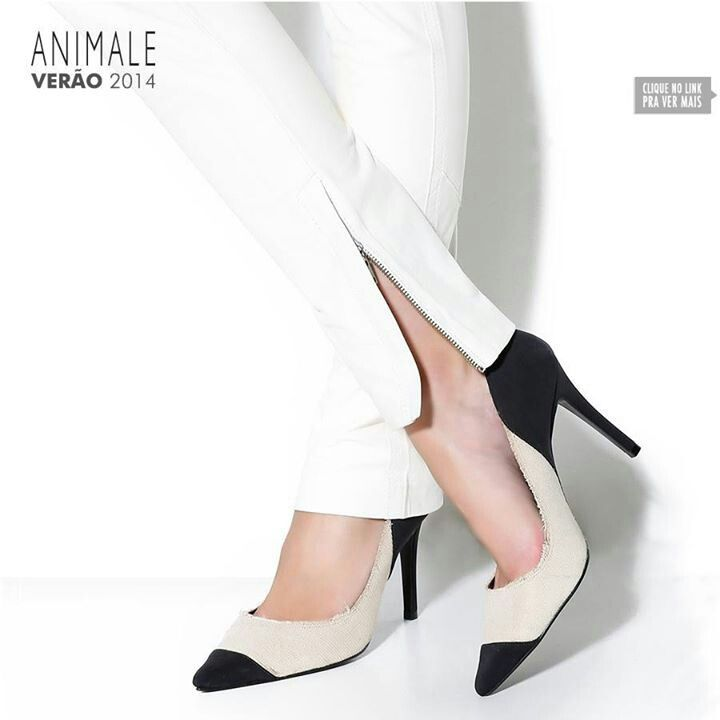 Scarpin Animale