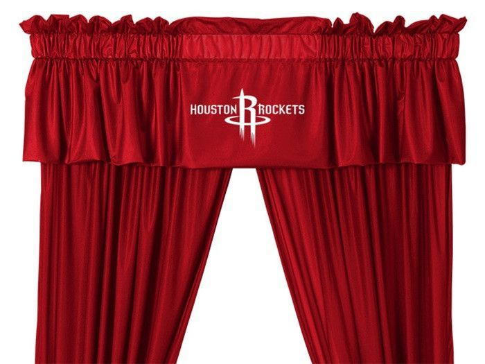 Use this Exclusive coupon code: PINFIVE to receive an additional 5% off the Houston Rockets NBA Drapes and Valance at SportsFansPlus.com