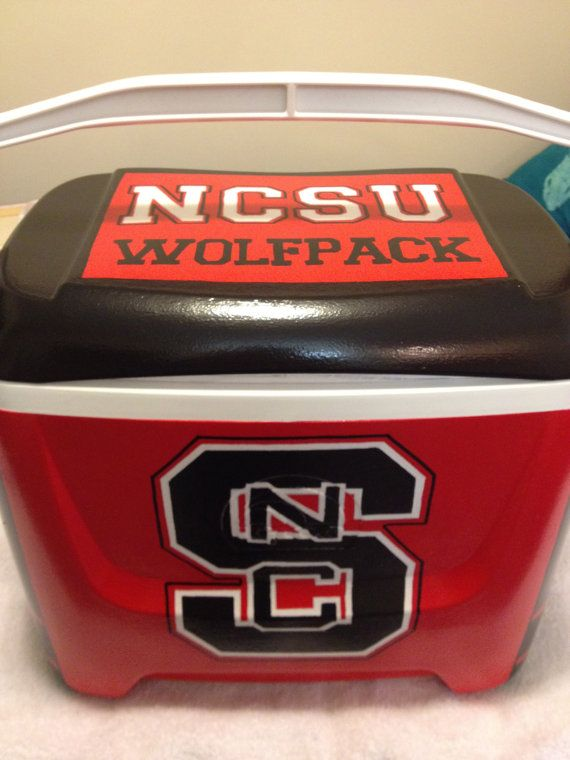 Hand Painted Team Sport Tailgate Cooler By