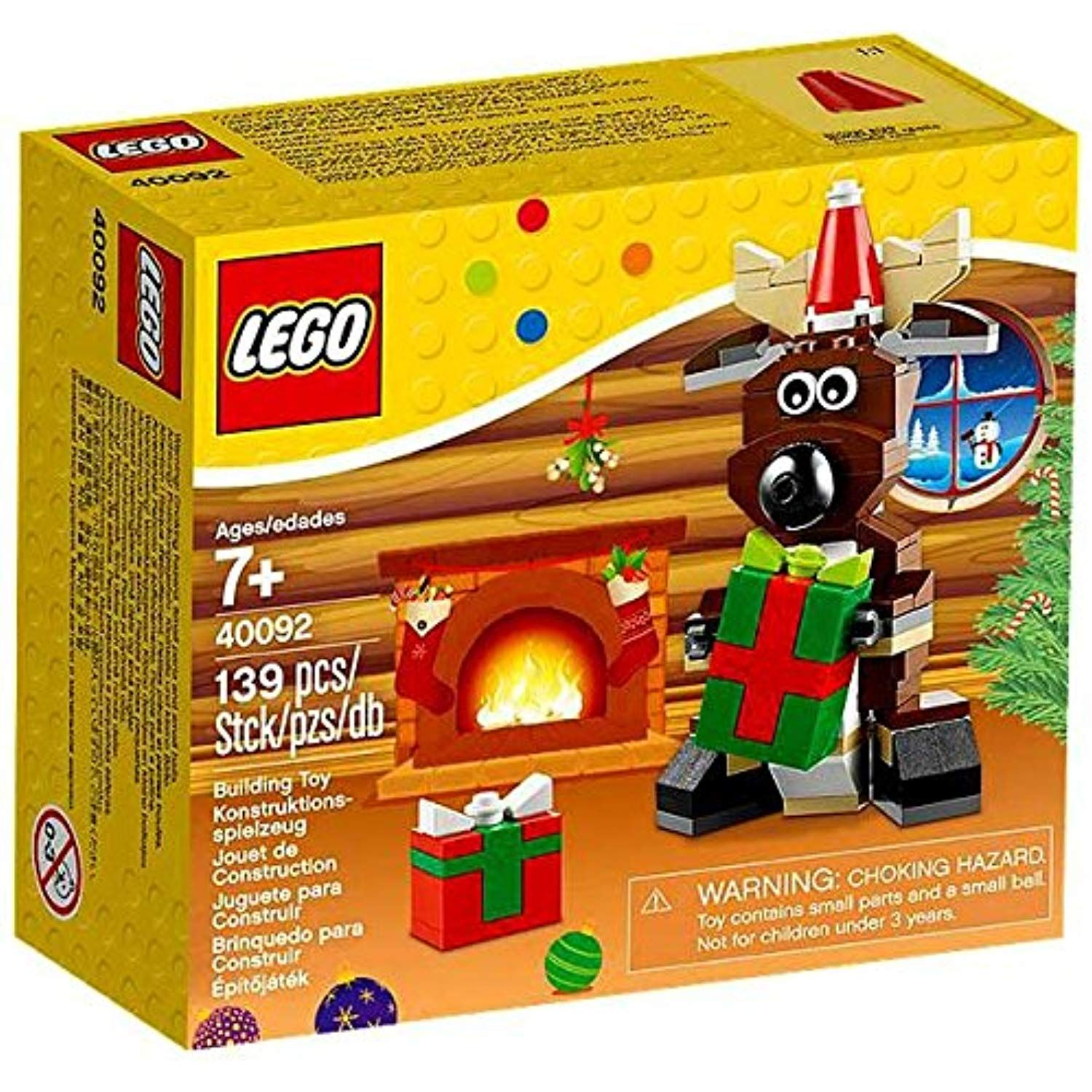 Lego Reindeer 40092 Read more at the image link. (This