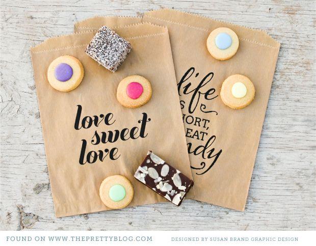 Candy bag printables