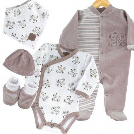 Conjunto recién nacido para la maternidad #conjunto #bebe ...