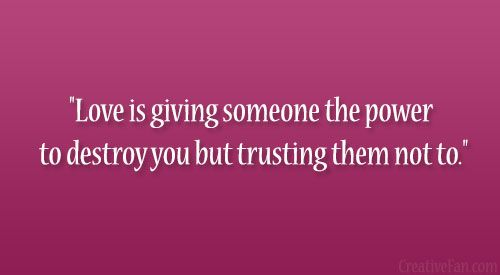Giving Someone