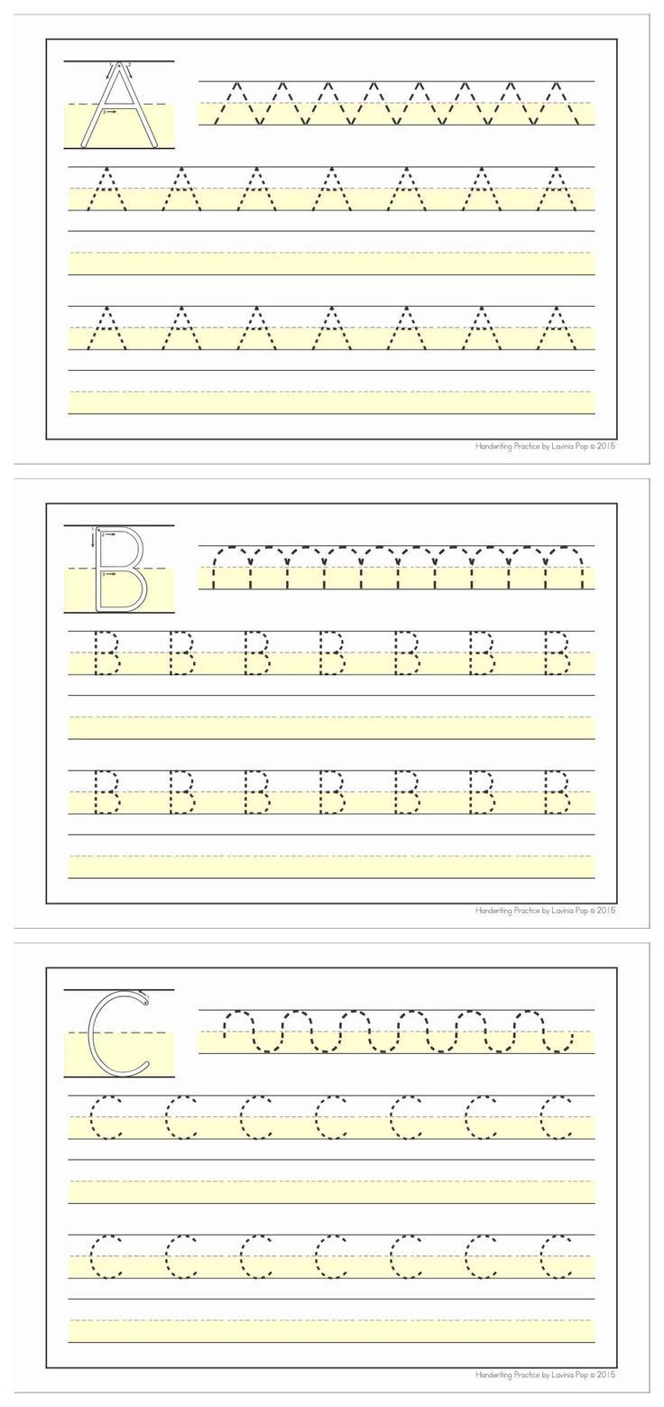 Handwriting SOS - Upper Case Letter Size Differentiation. Great for ...