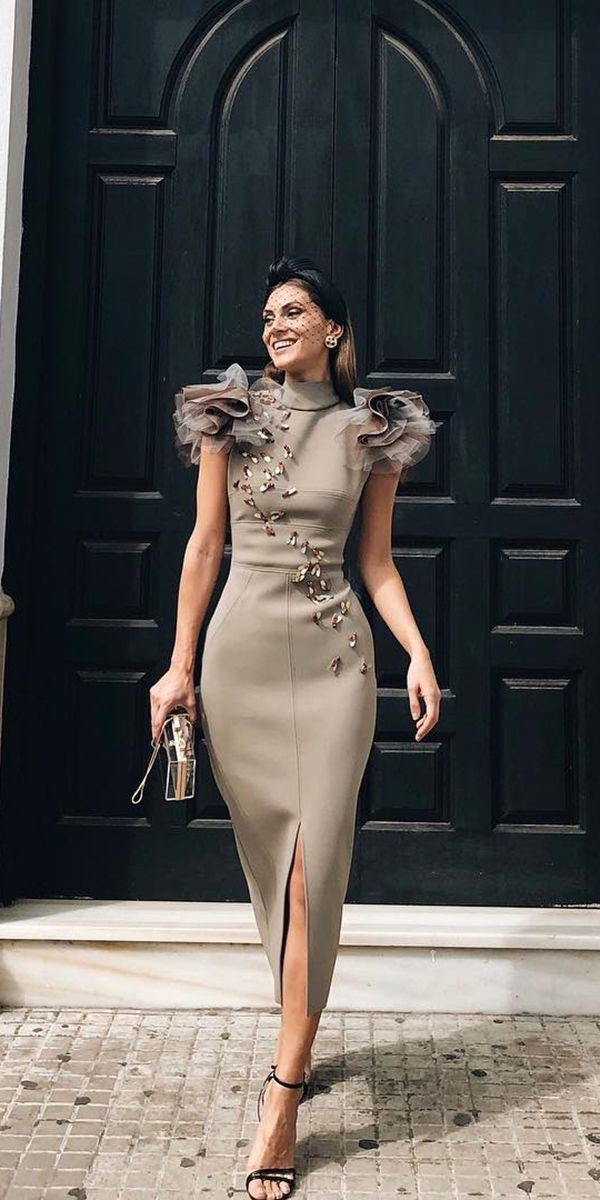 33 Long Mother Of The Bride Dresses You Are Sure T