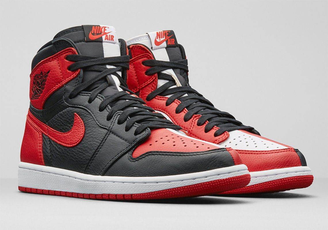 "Cheap Air Jordan 1 Retro High OG ""Bred"" Replica On Sale"