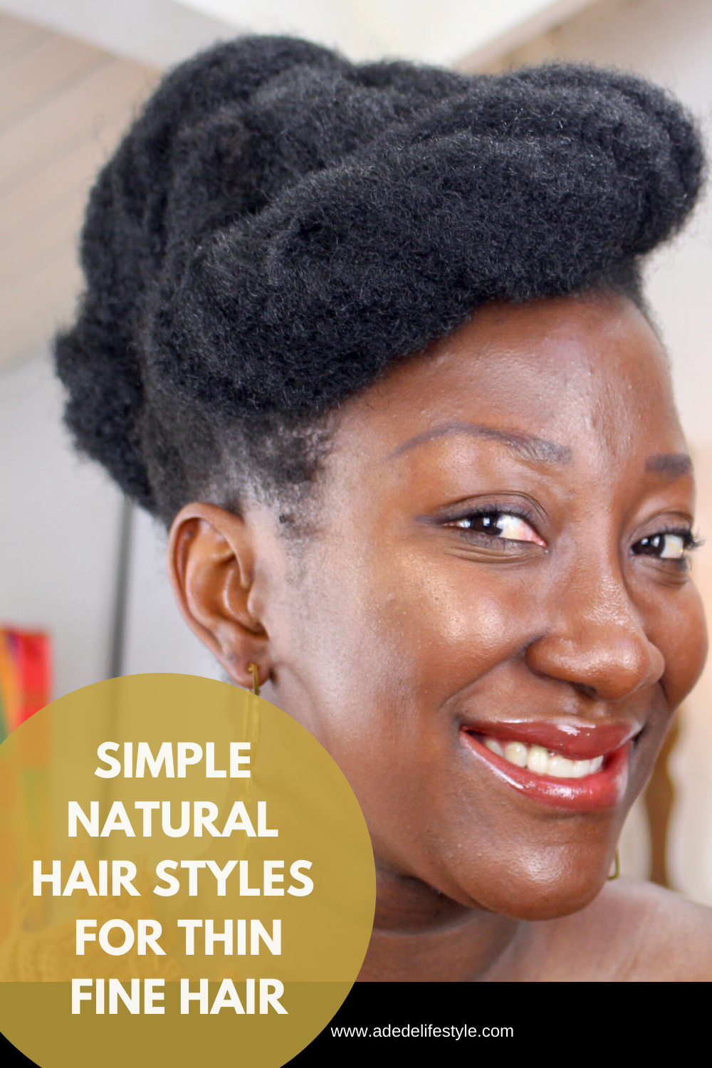 Simple Natural Hairstyles For Thin Fine Hair