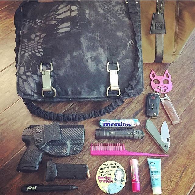 What's in your NORB?  #OffHandGearTribe and show us - Thanks to @tacgirlmichelle for this pic of your NORB (No Ordinary Range Bag) ❌⭕️