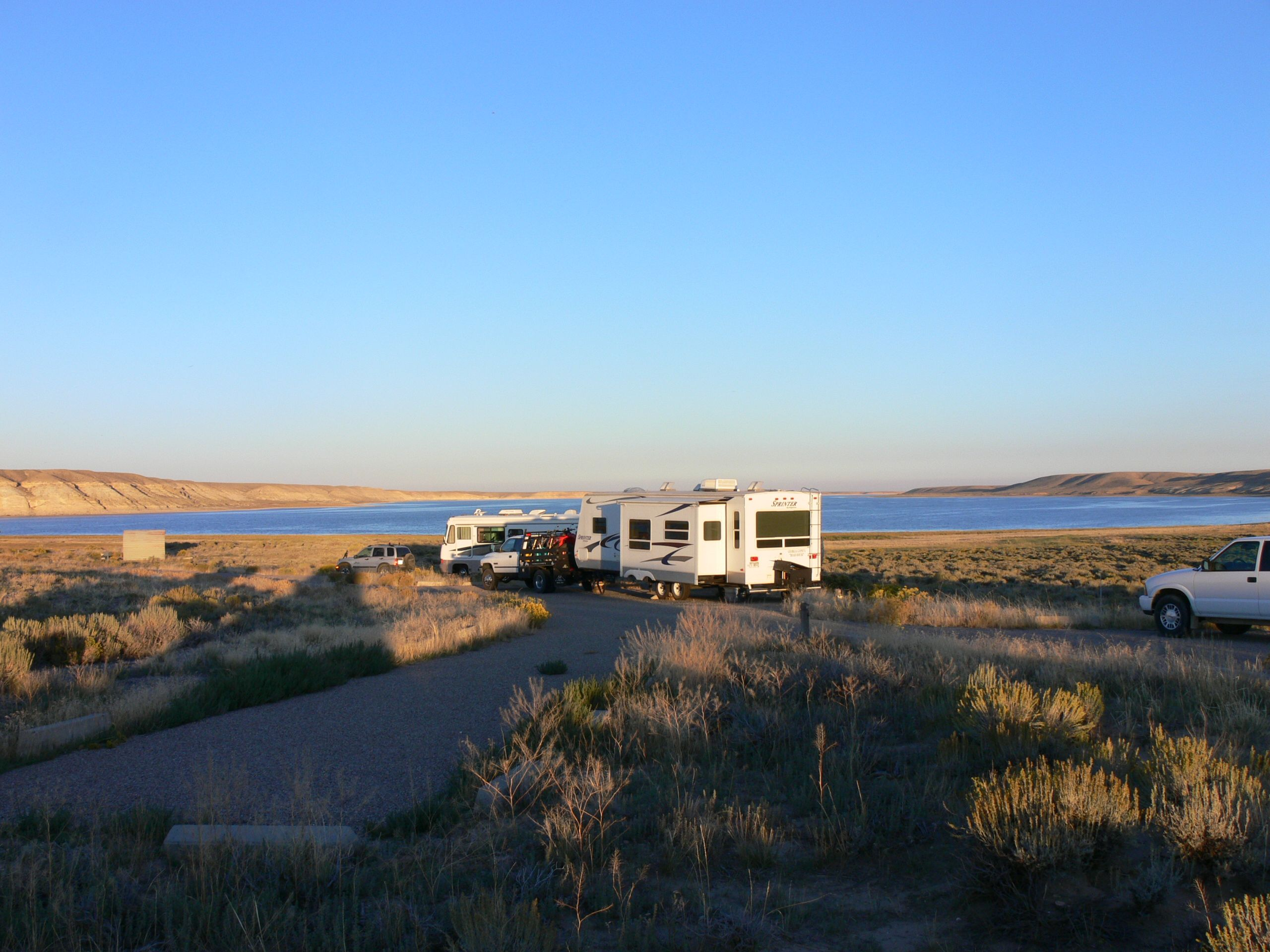 Our Camp At Fontenelle Reservoir Wy Atv Ing Where To