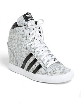 adidas 'Basket Profi' Hidden Wedge Sneaker (Women) on