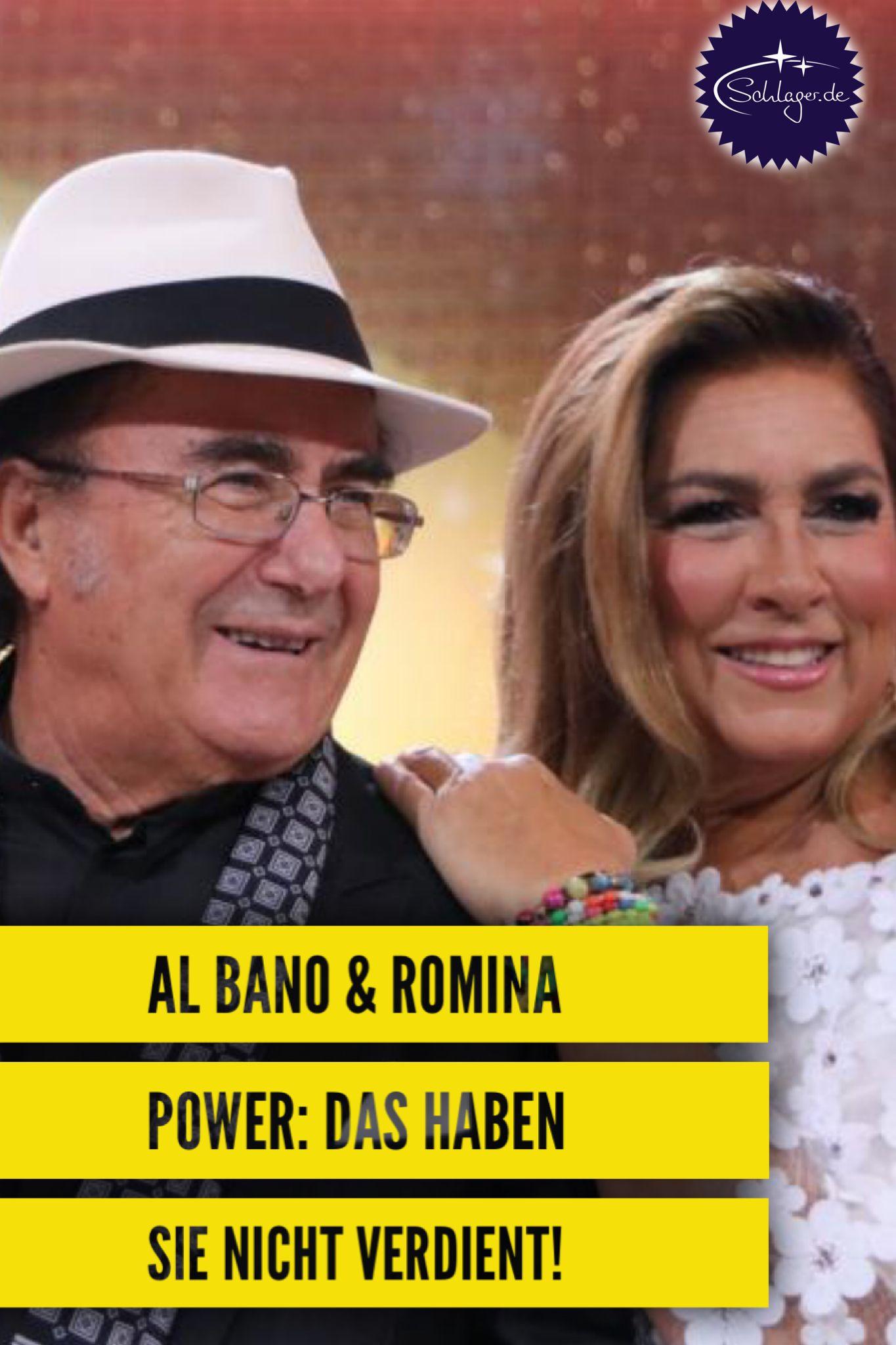 Al Bano Und Romina Power Mieses Spiel Mit Ihrem Guten Namen