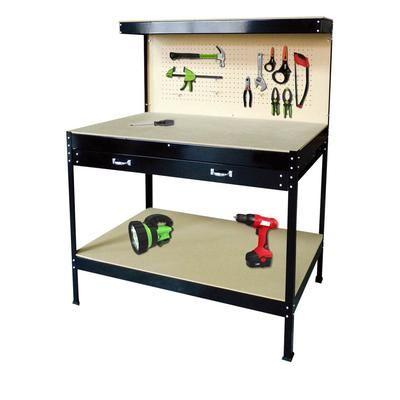 ToolMaster Single Drawer Workbench 18300 Home Depot