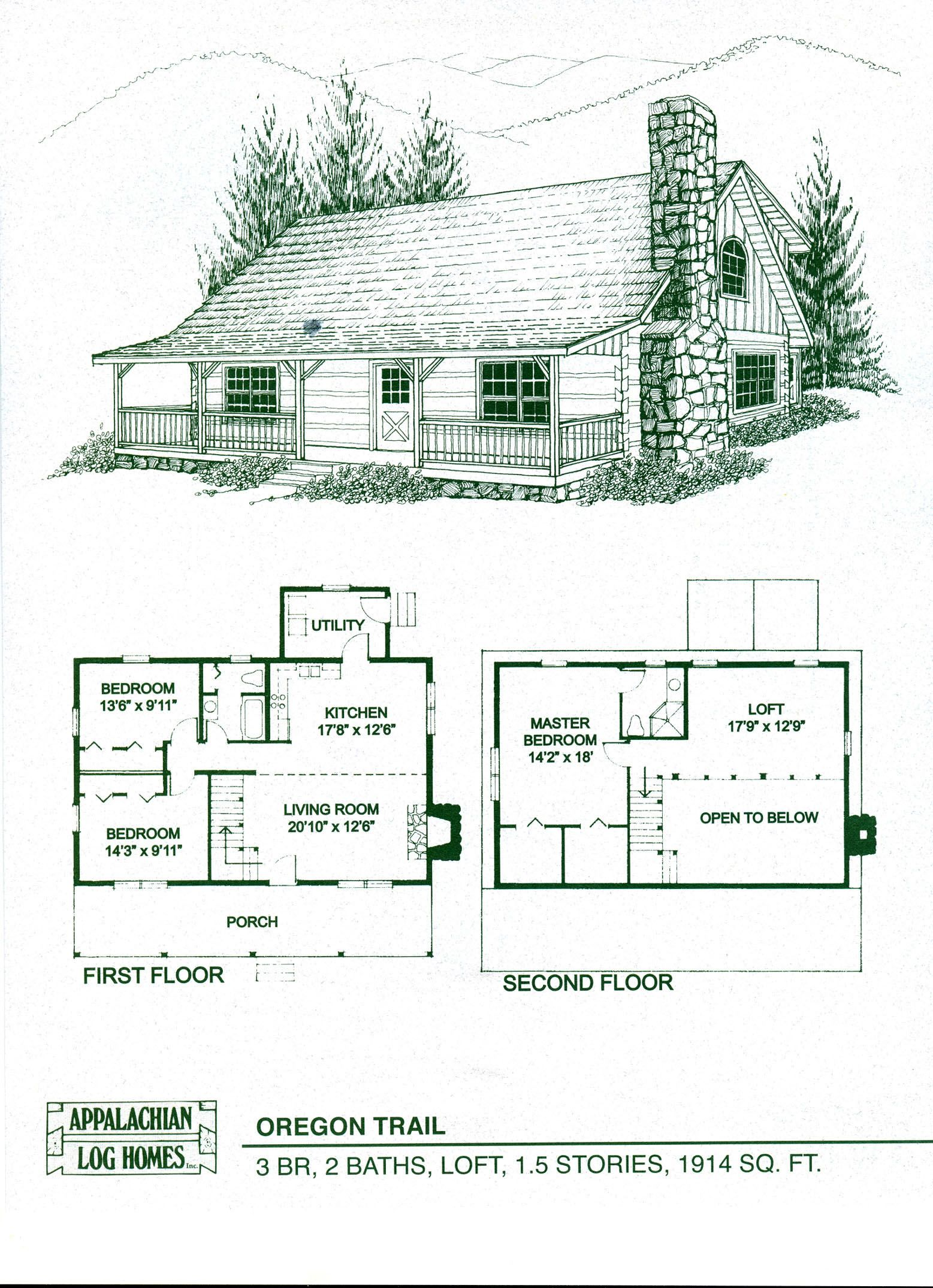 Log Home Floor Plans Log Cabin Kits Appalachian Log Homes Log Cabin Floor Plans Cabin House Plans Log Home Floor Plans