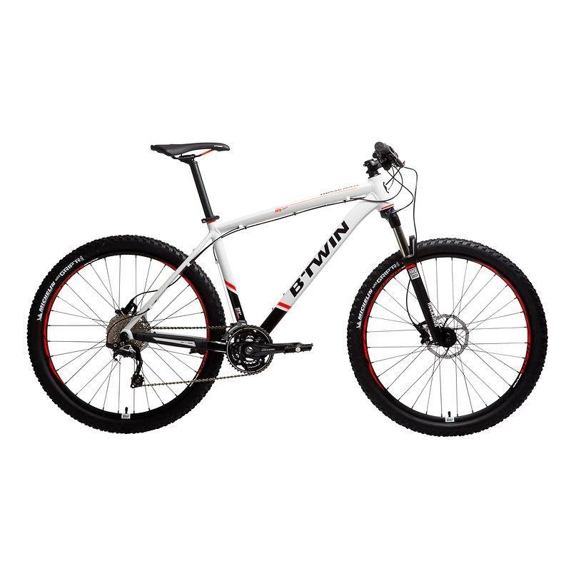 Velo Velos Velos Cyclisme Vtt Rockrider 580 Blanc B Twin Velos Vtt Rockrider Vtt Casque Vtt