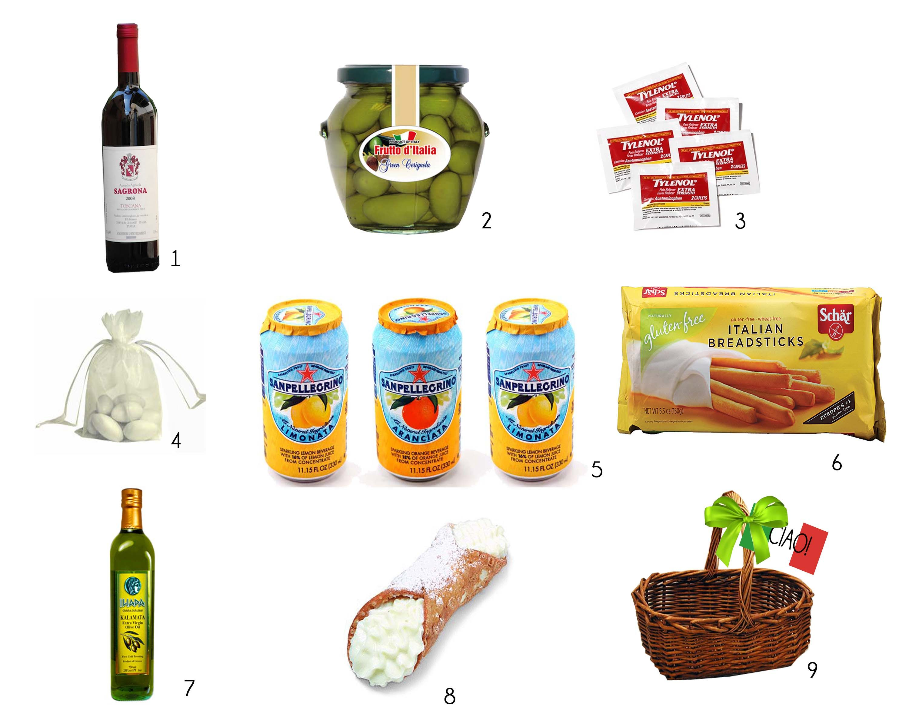 Italian themed gift basket hostess gifts pinterest themed italian themed gift basket negle Choice Image
