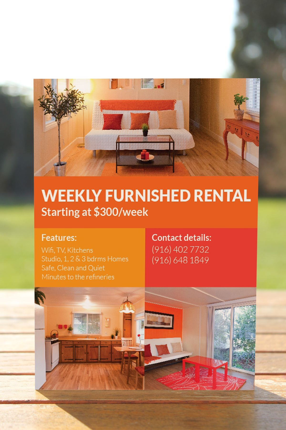 Rental Property Ad   Design    Ads Newspaper And
