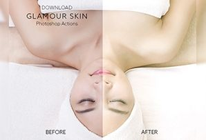 Free Download Glamour Skin | Photoshop Actions