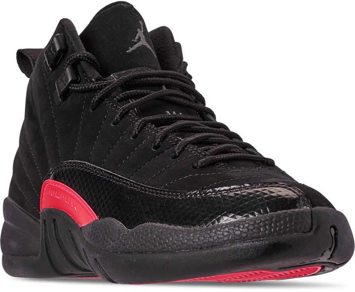 finest selection e1fbc 8b564 Nike Girls' Big Kids' Air Jordan Retro 12 Basketball Shoes ...