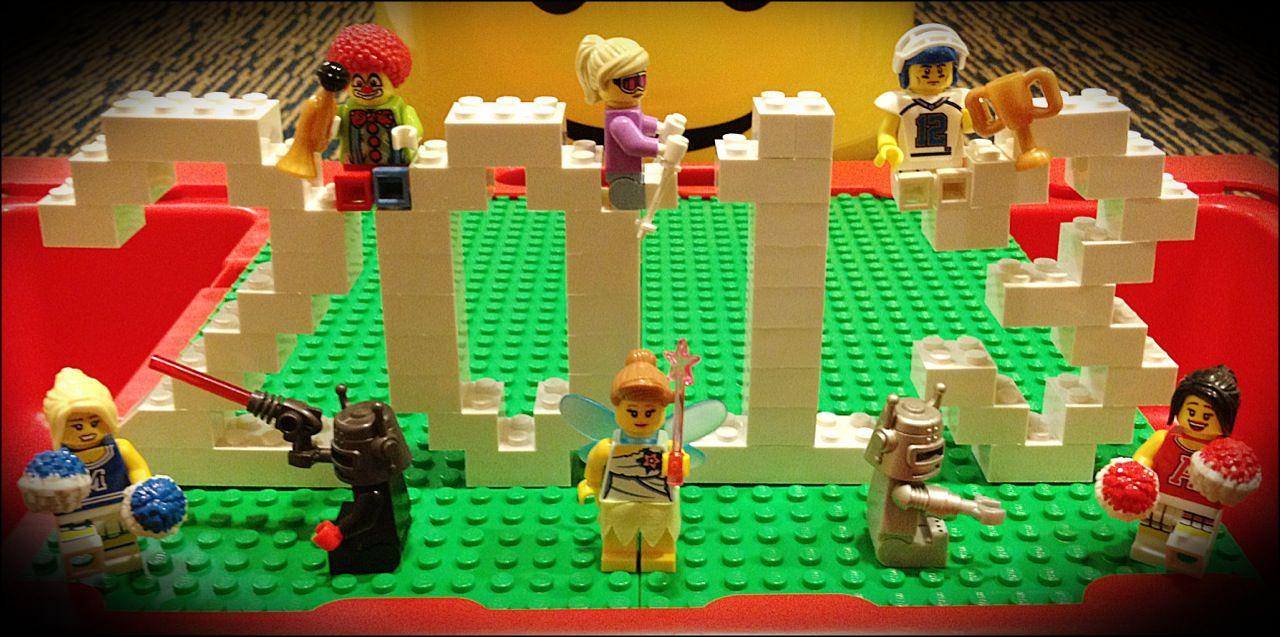 Jan 1 2013 Happy New Year Lego Lego Projects Lego