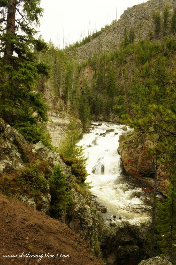Firehole Falls || Yellowstone National Park || Dirt In My Shoes