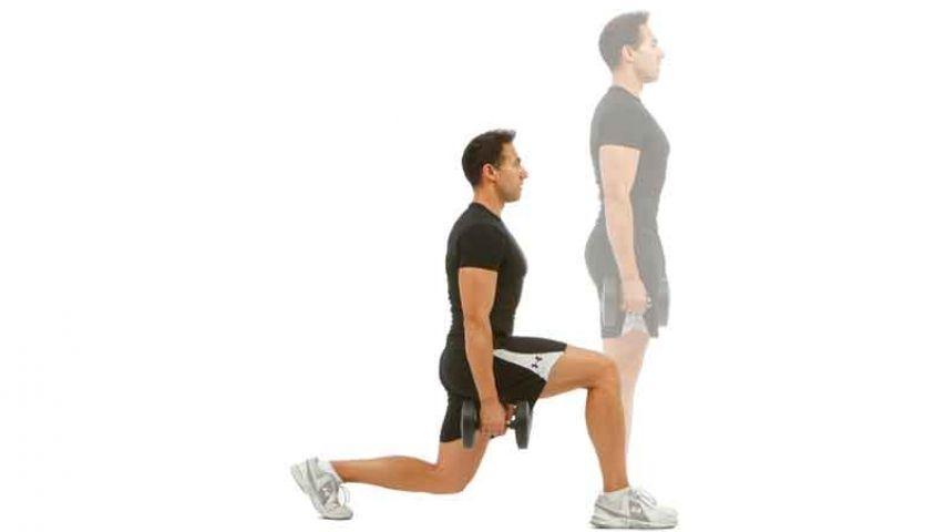 Zancada segura: el ejercicio para salvar tus rodillas   Fitness   Zancadas,  Ejercicios, Entrenamiento