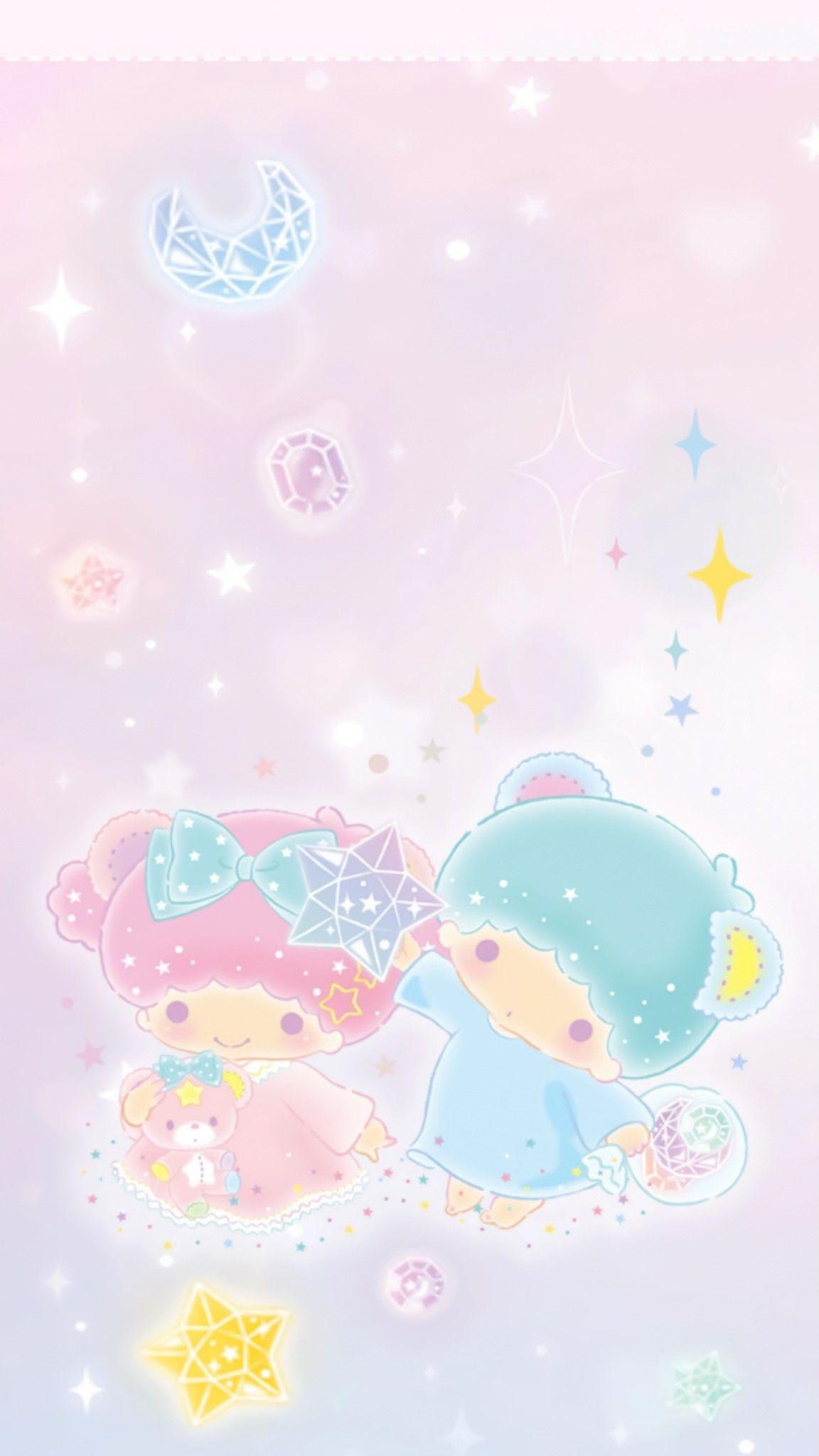 Little Twin Stars Bg おしゃれまとめの人気アイデア Pinterest Apoame キキララ 壁紙 壁紙 かわいい リトルツインスターズ