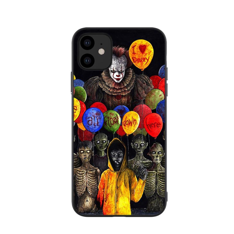 Friends Horror Movie Creepy Halloween Case For Iphone 11 Black Soft Tpu Cover For Iphone 11 Pro Max 5 8inch 6 1inch 6 5inch New In Flip Cases From Cellphones Iphone Cases Iphone 11 Creepy Halloween