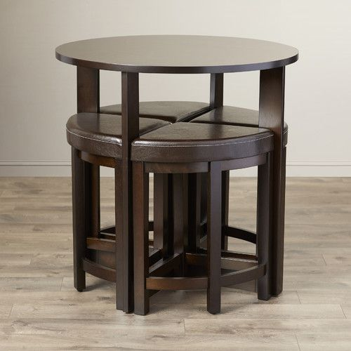 Found it at Wayfair - Gradall 5 Piece Dining Table Set Apartment