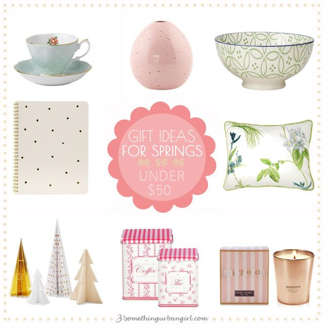 Home Decor Gift Ideas Part - 15: Home Decor Gift Ideas Under 50USD For Spring Seasonal Color Women