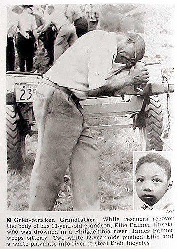 Grief Stricken Grandfather - Jet Magazine, July 21, 1955 | Flickr
