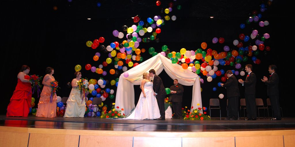 Rainbow Wedding Theme Skyes Rainbow Pinterest Wedding