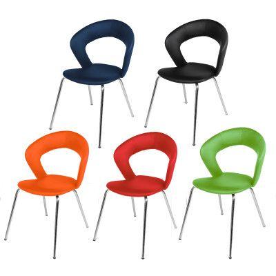 Remarkable The Actona Edna Dining Chair Has A Modern Open Back Design Dailytribune Chair Design For Home Dailytribuneorg