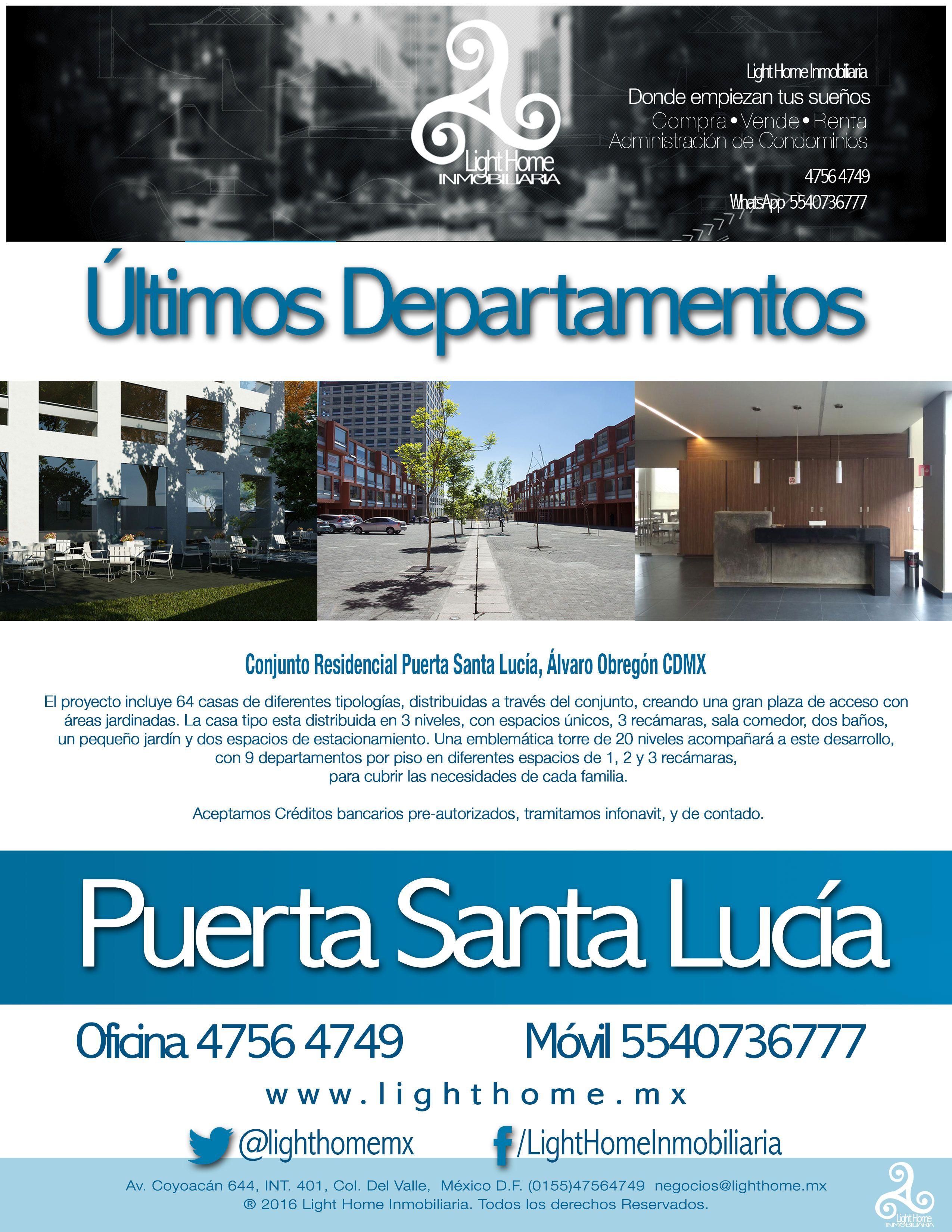 Pin en Compra, Venta de Departamentos y Casas en la CDMX
