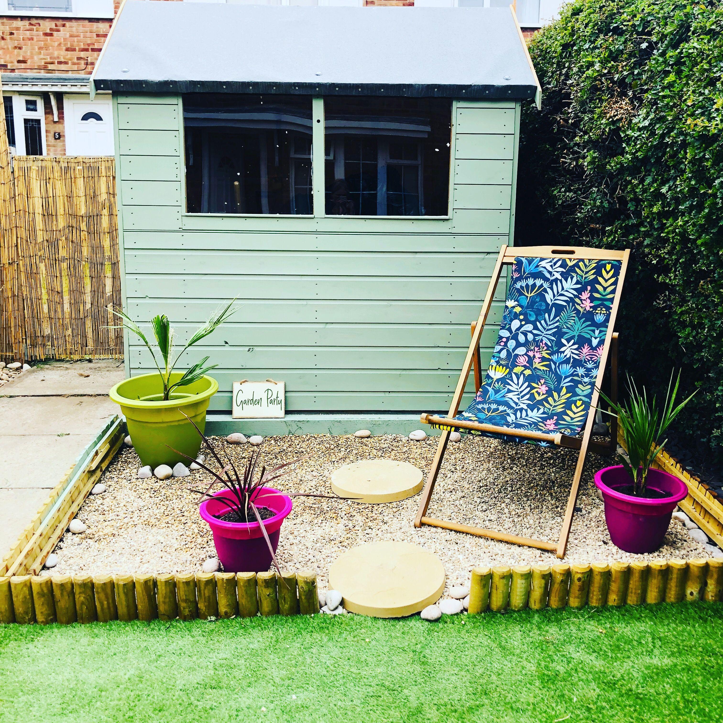 Painted with Cuprinol Garden Shades Willow Cuprinol
