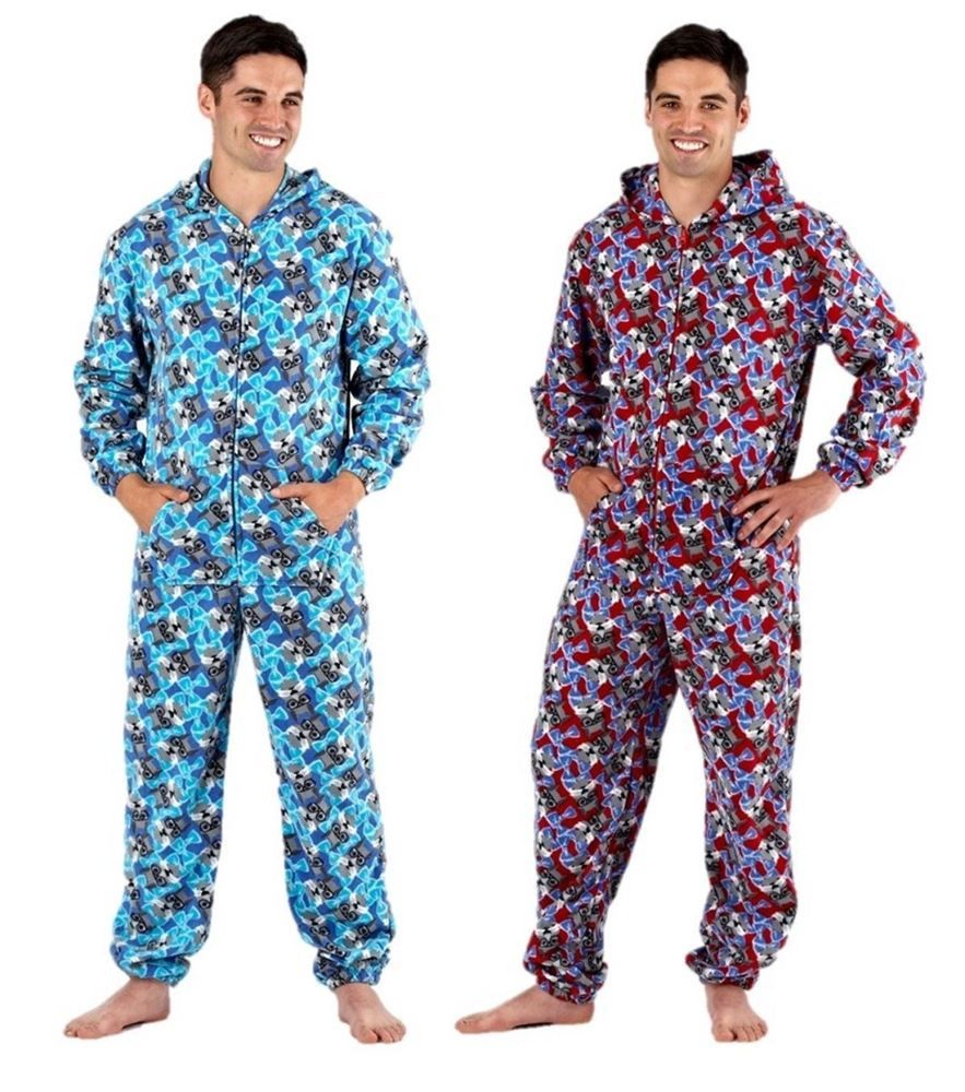 homme pyjama combinaison polaire pyjamas tout en un. Black Bedroom Furniture Sets. Home Design Ideas