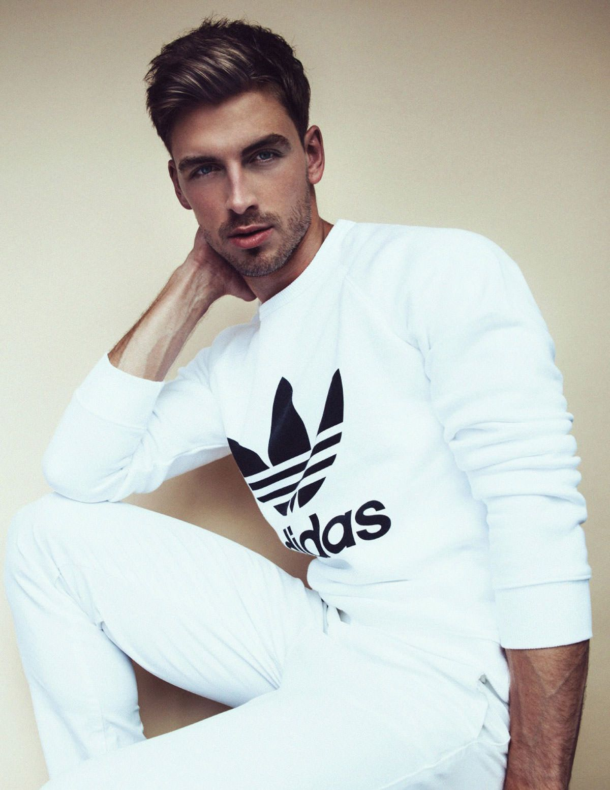 Impossible is nothing when I'm rockin Adidas  Male model