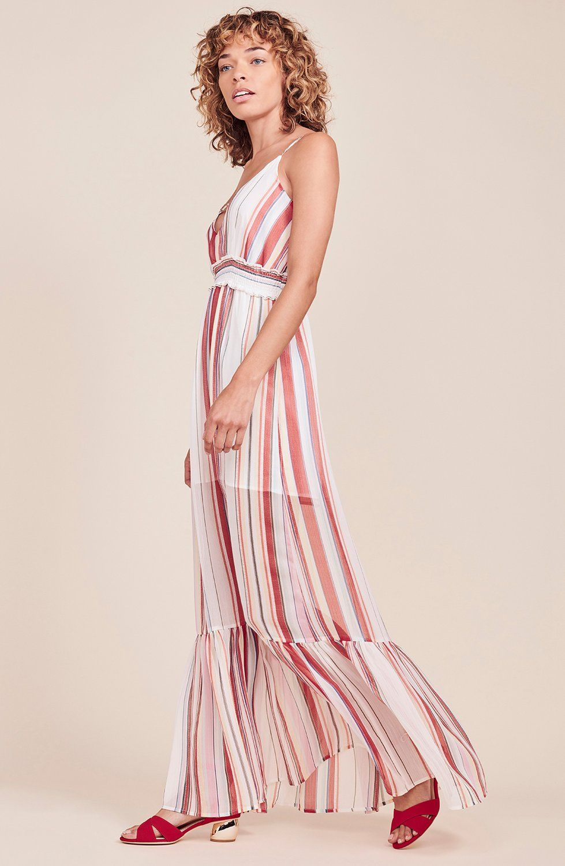 Luciana maxi dress cloud white xs n i r v a n a pinterest
